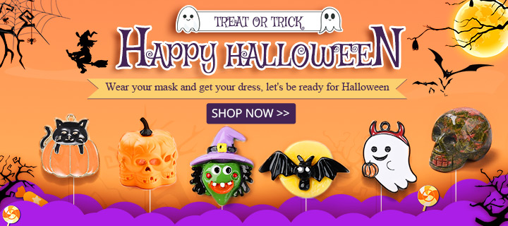 Happy Halloween~~ Treat or Trick Wear your mask and get your dress, let's be ready for Halloween Shop Now