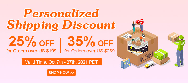Personalized Shipping Discount