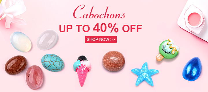 Cabochons Up to 40% Off