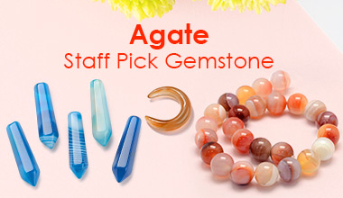 Agate Staff Pick Gemstone